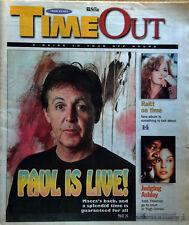 PAUL McCARTNEY - STAR NEWSPAPER/TIMEOUT SUPPLEMENT - CVR STORY- APR. 5TH, 2002