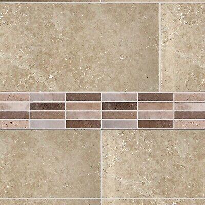 Talya Mix Polished Marble Mosaic Natural Stone Wall Floor Tiles Backsplash
