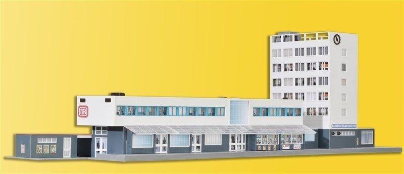 Kibri 39514  49514  HO Stazione ferroviaria Kehl incl. piani illuminazione interna Kit * NUOVO *