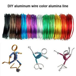 Aluminium Jewellery Craft Wire Diy Handicrafts Colored Flexible