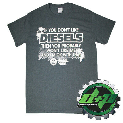 Powerstroke t Shirt tee Short Sleeve Diesel Gear Power Stroke Truck wear Large