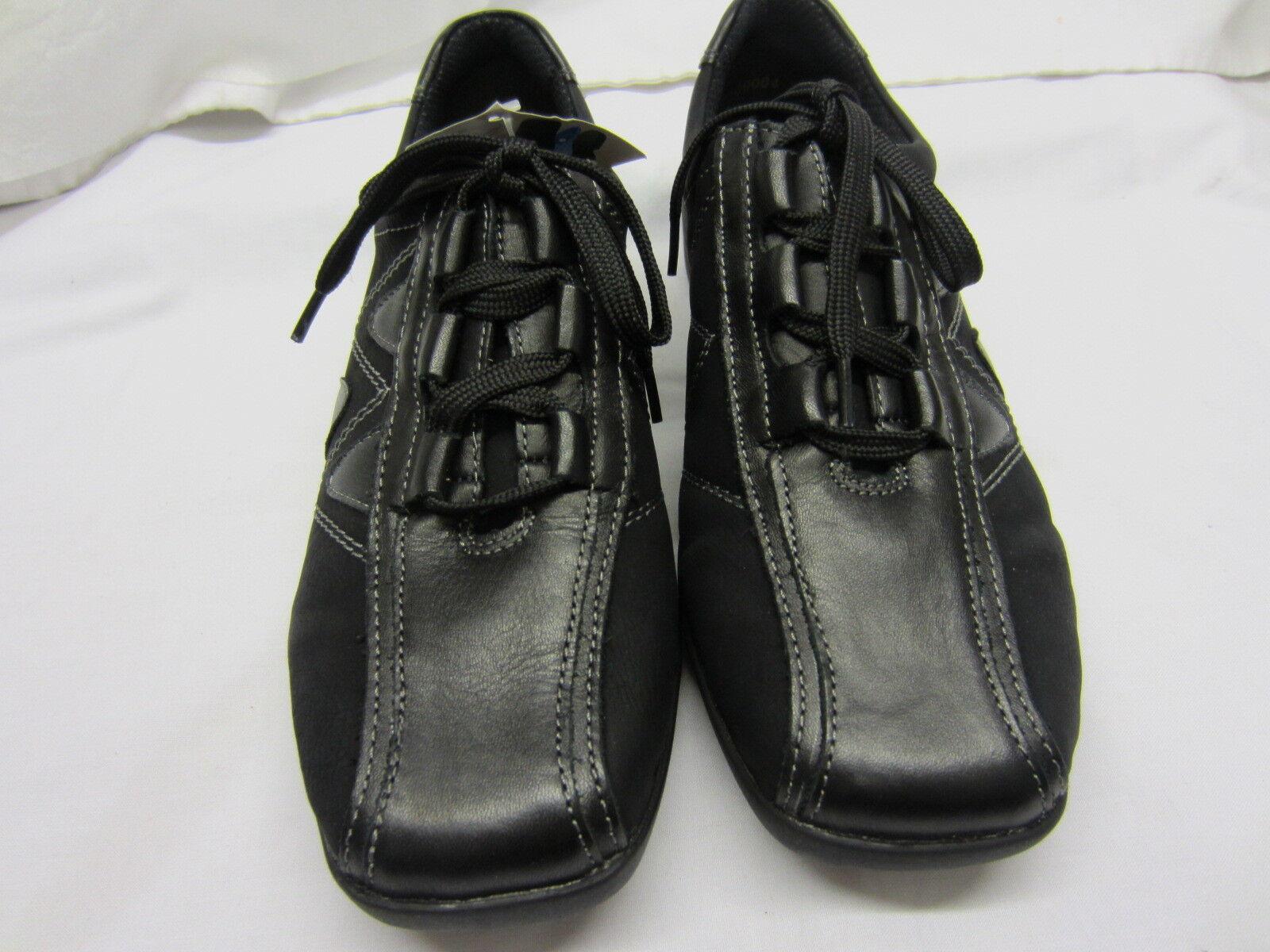 Remonte Remonte Remonte Dorndorf 'D0505-21' Ladies Black Leather Lace Up shoes f7e34d