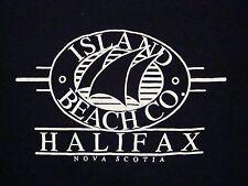 Vintage Island Beach Co. Halifax Nova Scotia Canada Sailing Tourist T Shirt L