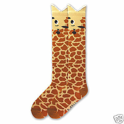 Ladies Giraffe Design Socks