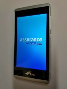 size 40 4c80a f5ccc Details about ANS UL40 Silver Assurance Wireless State Phone Smartphone  Virgin Obama Phone