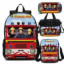 2 Pcs Set /_ Lunchbox//Lunch Box /& Drinks Bottle Large /'Fireman Sam /'