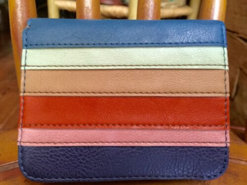 New! RELIC Takeaway Collection Multifunction Wallet STRIPES