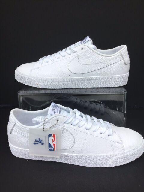 online store a2359 39ba0 Nike SB Zoom Blazer Low NBA White/White-Rush Blue Mns.Sz.11 (AR1576-114)