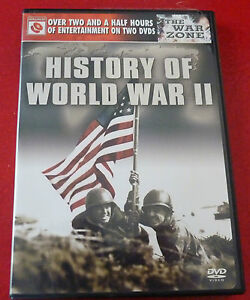 DVD-Movie-Disc-Set-of-2-History-of-World-War-II