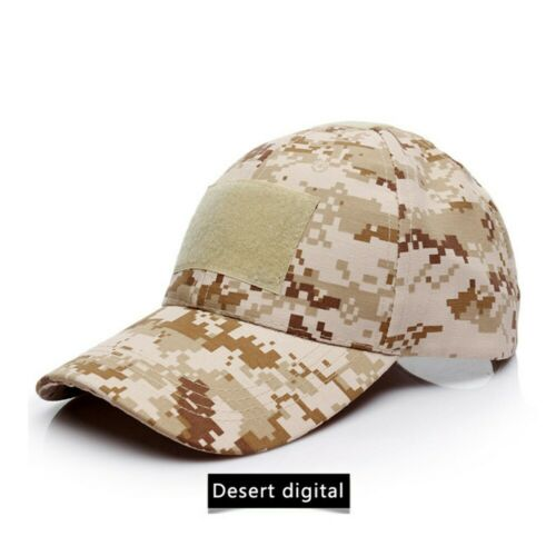 Men Tactical Operator Solid Black Baseball Hat Military Army Summer Airsoft Cap