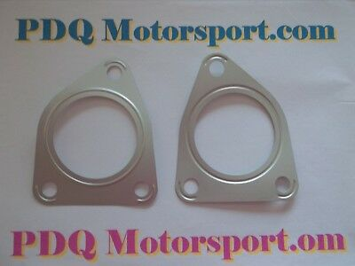 Lotus Elise S1 4x Upgraded Stainless Exhaust Hanger Plates New PDQ Motorsport