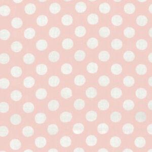 Michael Miller Ta Dot Lunares Rosa 100/% Algodón FQ cuarto Gordo CX1492-Rubor