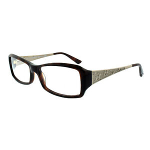 378e3020d30d Image is loading Swarovski-SK5030-052 -Champagne-Brown-Rectangle-Women-Optical-