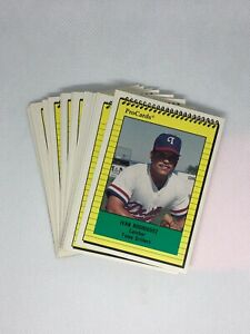 1991 PROCARDS PRO CARDS TULSA DRILLERS IVAN PUDGE RODRIGUEZ Rookie Mint Set