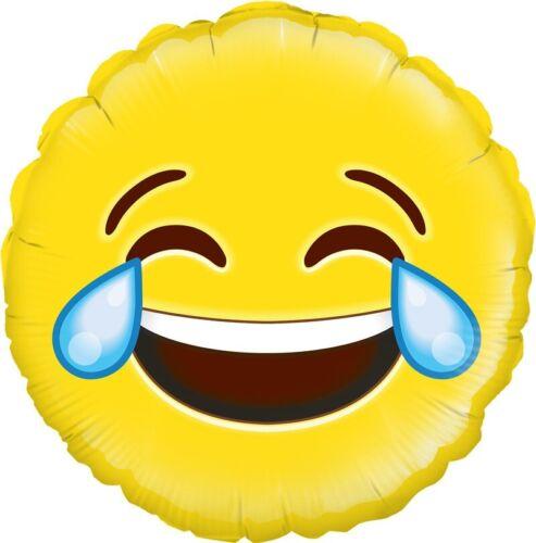 """Oaktree 18/"""" foil balloon lol emoji"""