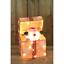 Luce-Up-Movimento-Animato-Babbo-Natale-Pupazzo-di-Neve-Decorazione-Interno-Led miniatura 2