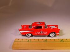 """JL '57 CHEVY """"MONOPOLY"""" ILLINOIS AVE. COLLECTIBLE DIECAST LIMITED EDITION"""
