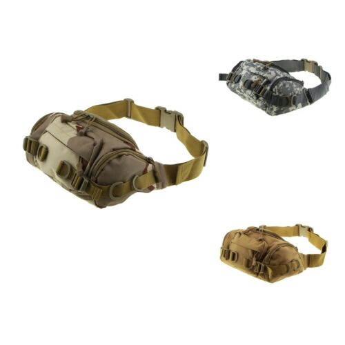 Uni Fishing Waist Pack Tactical Military Waist Bag with Adjustable Strap