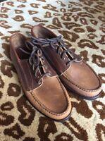 $375 Eastland Bremen Blucher Shoes Made In Maine Usa Vibram Sole Size 11