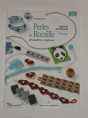 Livre loisirs créatifs (perles de rocaille, bijoux fantaisie,tissage) 48 pages