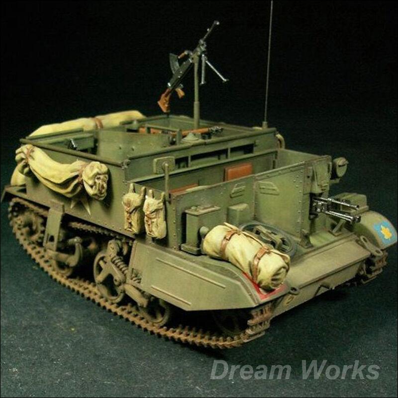 Award Winner Built 1 35 British Universal Carrier Mk.II Bren Gun Carrier+Interio