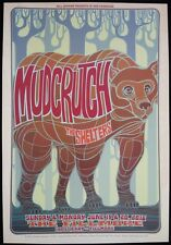 Mudcrutch / Shelters **RARE** 2016 Fillmore Concert Poster - F1418 - Tom Petty