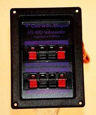 4 or 8 ohm 250 Watt Cerwin Vega Subwoofer or Dual Woofer Cross-Over HT10D