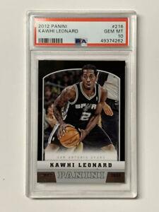 Kawhi-Leonard-2012-Panini-Rookie-Basketball-Card-216-Clippers-PSA-10-Gem