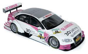 Audi A4 DTM 2010 N°15 - Audi Sport Team Rosberg - NOREV 1/18 VOITURE 188335 - France - État : Neuf: Objet neuf et intact, n'ayant jamais servi, non ouvert. Consulter l'annonce du vendeur pour avoir plus de détails. ... Marque: Norev Echelle: 1/18 Type: Voiture: Tourisme DTM (touring car) Matire: zamac Marque du véhicule: Audi Em - France