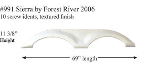 Details about Forest River RV Fender Skirt Fiberglass #991 Grey **SEE  DESCRIPTION**