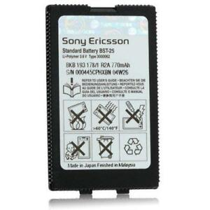 NEW-OEM-Sony-Ericsson-770mAh-Li-ion-Battery-For-T606-BST-25