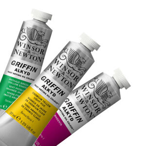 Image Is Loading Winsor Amp Newton Griffin Alkyd Fast Drying Oil