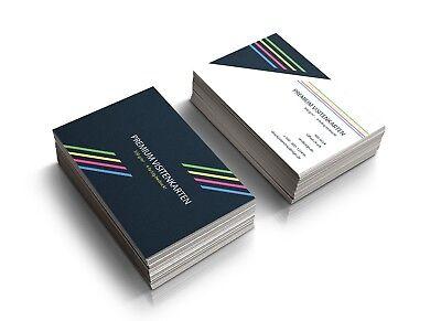 2019 Neuestes Design Premium Visitenkarten Drucken Einseitig Oder Beidseitig Farbig Offsetdruck SchnäPpchenverkauf Zum Jahresende