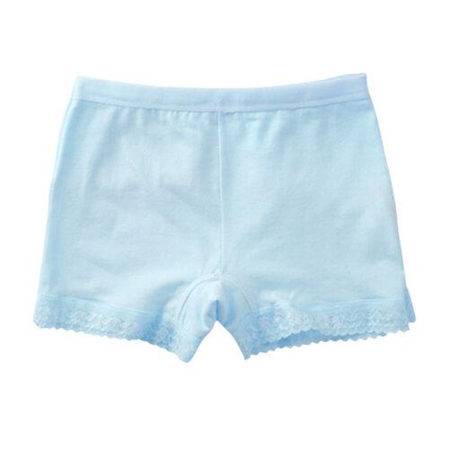 1PC Baby Kids Girls Cotton Boyshorts Boxers Underwear Shorts Size Suit 8-10 Year