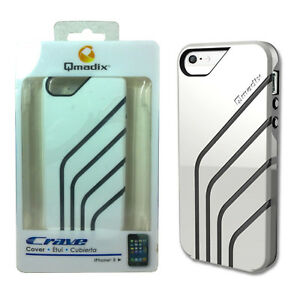 buy online b0e28 7bf65 Details about Qmadix Crave Cover Case for iPhone SE/5/5s - White