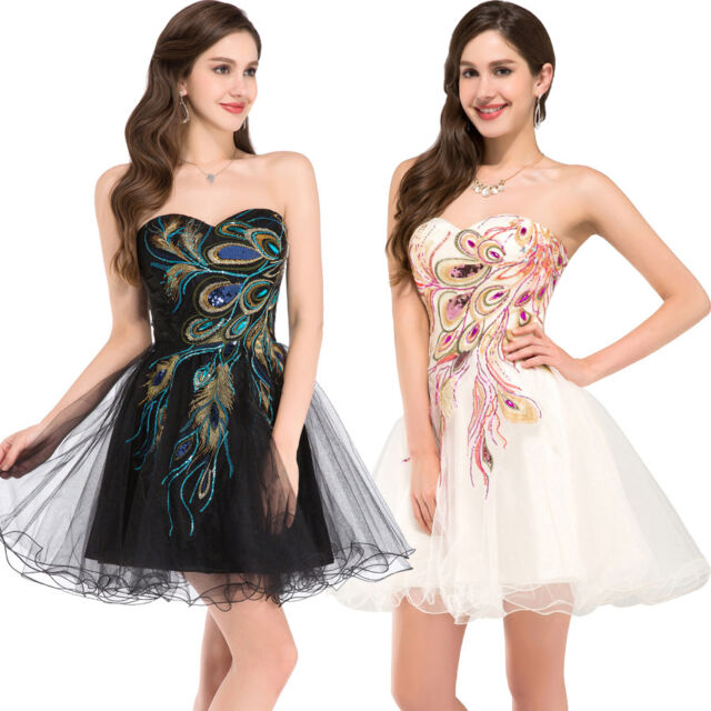 Short Prom Quinceanera Homecoming Graduation Gown Evening Party Bridesmaid Dress