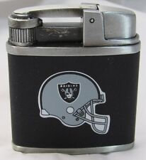 NFL NIB FSO TORCH FLAME BUTANE LIGHTER W/GIFT BOX - OAKLAND RAIDERS