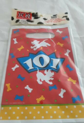 Disney 101 Dalmation 8 Treat Party Favor Sacks Bags Hallmark Party