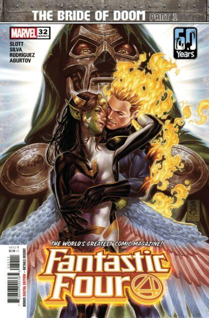 Fantastic Four #32 Comic Book 2021 - Marvel Bride of Doom part 1