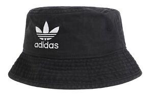 ecf56dd8ee2 Adidas Originals Bucket Caps Running Hat Black OSFM Unisex GYM Hats ...