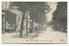 Parque Saint-Maur. Avenida de la Ayuntamiento
