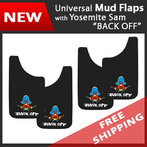 Set Of 4 Universal Fit Mud Flaps Splash Guards Yosemite