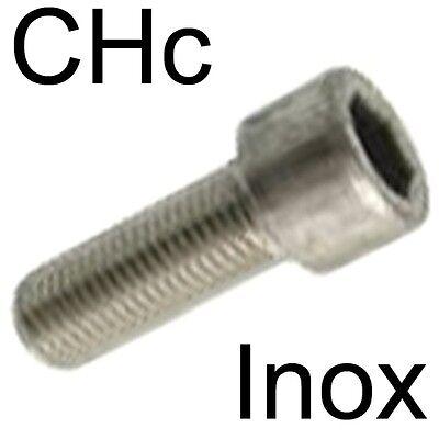 Lot de 50 vis cylindriques /à six pans creux DIN 912 M4X25 en acier inoxydable A2