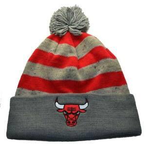 a37dda29e6e Image is loading Chicago-Bulls-NBA-Mitchell-amp-Ness-Speckled-Beanie