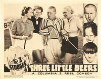 The Three Stooges In Three Little Beers Poster Replica 14 X 11 Photo Print
