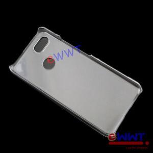 for-Google-Pixel-3-Dual-Sim-2018-Crystal-Clear-Plastic-Back-Hard-Case-ZVCF808