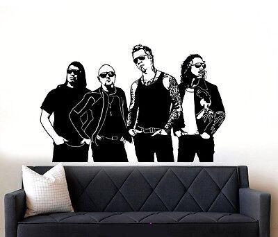 Metallica Rock Band Wall Art Vinyl Sticker Decal