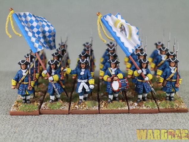 Spanskt arv 1701 -1714 Marlbguldugh s Wars  Infanteri Sun King r69