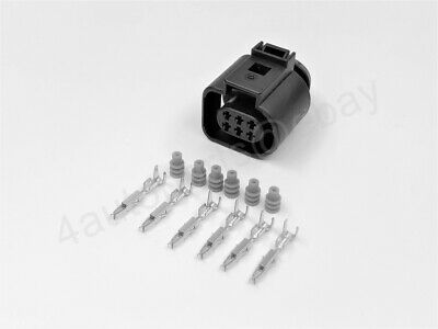 8K0973323R 2 Pins Plug Flat Contact Housing Mating Connector for VAG VW Audi