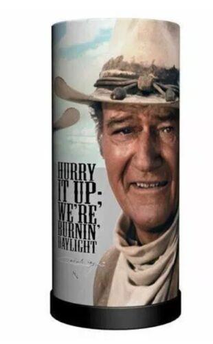 John Wayne Nemesis Now Round Lamp B2274F6 27.5CM Wild West Cowboy Hurry it Up